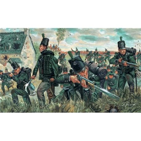 """Британский 95-й стрелковый полк """"Green Jackets"""" (Наполеоновские войны) 1:72"""