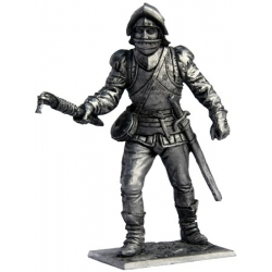 Artilleryman with linstock. Western Europe, 15th century (246M)
