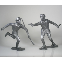 American scouts, set of two figures 3 (15 cm)