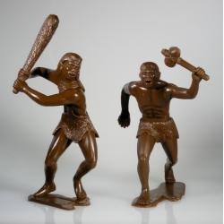Cavemen, set of two figures 1 (15 cm)