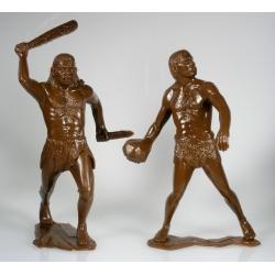 Cavemen, set of two figures 2 (15 cm)