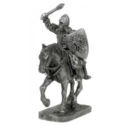 Equestrian Russian warrior