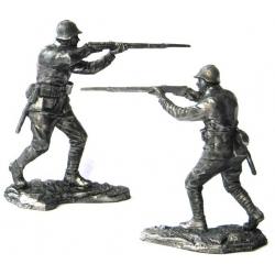 Рядовой стрелковых войск, 1941-43 гг.
