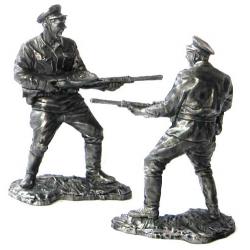 Рядовой пограничных войск СССР, 1941-43 гг.
