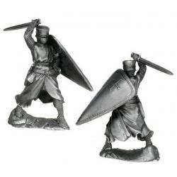 Рыцарь-тамплиер, 12 век.