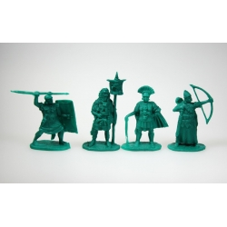 """Roman legionaries, set 1"". A complete set of 4 figures in 4 poses."