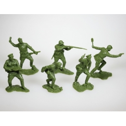 "Set of ""The Brest Fortress"". 6 figures"