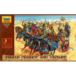 Персидская кавалерия и колесница IV-I вв. до н.э.