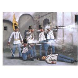 Австрийские стрелки 1859 1:72