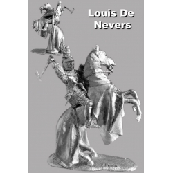 Louis (Louis) I Nevers Count of Flanders. Crecy in 1346