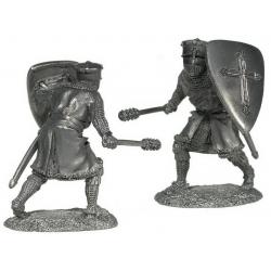 Рыцарь-крестоносец, 12-13 вв.