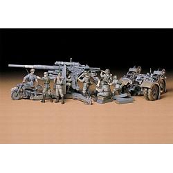 1/35 Немецкая 88мм зенитная артиллерия Gun Flak 36/37 (с 9 фигурами) WWII
