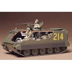 1/35 Амер. БТР M113 A.P.C.(Вьетнам) с внутр. интерьером, 5 фигур