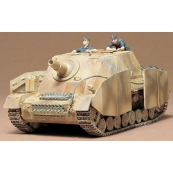 1/35 Немецкая самоходная гаубица Sturmpanzer IV BRUMMBAR с 2-мя фигурами WWII (35077)