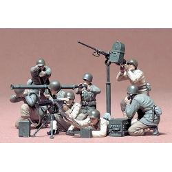 1/35 Американские пулеметчики и гранатометчики в бою, 8 фигур WWII