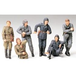 1/35 Советский танковый экипаж на отдыхе (6 фигур) WWII