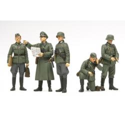 1/35 Немецкие полевые командиры (5 фигур) WWII