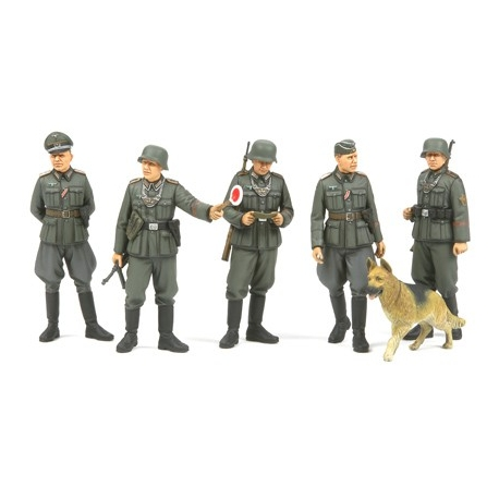 1/35 German Field Military Police WWII