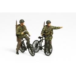 1/35 Британские десантники с велосипедами (2 фигуры) WWII