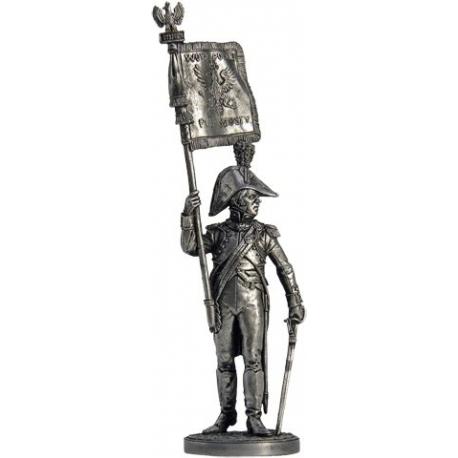 Офицер-орлоносец 6-го пехотного полка. Польша. Польша, 1810-14