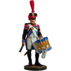 Барабанщик гренад. роты 57 го линейного полка. Франция 1809-1812 г.г.
