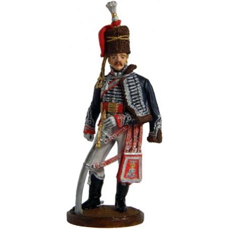 Офицер 15-го лёгкого драгунского (гусарского) полка Короля. Великобритания, 1808-13 гг.