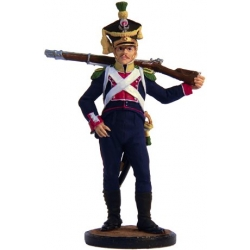 Voltigeur 8th Infantry Regiment. Poland, 1808-10