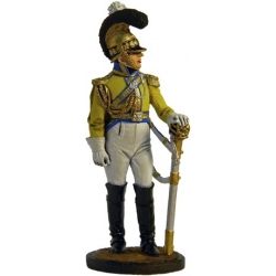 "Officer of the regiment, ""Gard du Cor."" Saxony, 1810-13"