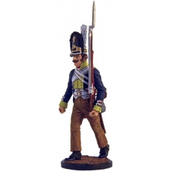 Grenadier of the 45th Regiment of Foot Zweifel. Prussia, 1806