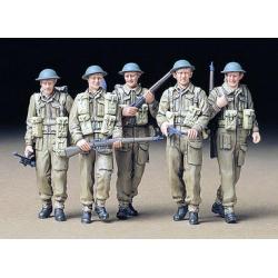 1/35 Английская пехота (5 фигур) WWII