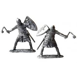 Тяжеловооруженный русский дружинник, 14 век
