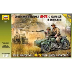 WW2 Soviet Motorcycle М-72