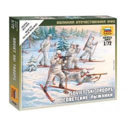 WW2 Soviet Skiers (6199)