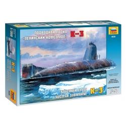 Soviet Nuclear Submarine K-3