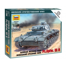 WW2 Немецкий средний танк Pz.Kp.fw III G (6119)