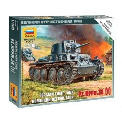 WW2 German Light Tank PZ.KPFW.38 (6130)