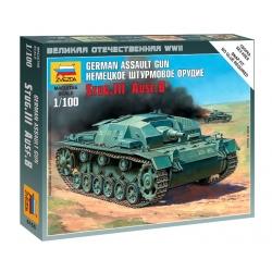 WW2 Немецкое штурмовое орудие Stug.III Ausf.B (6155)