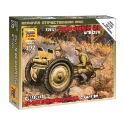 WW2 Soviet 76-mm Gun