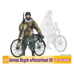 WW2 German Bicycle w/Panzerfaust 60