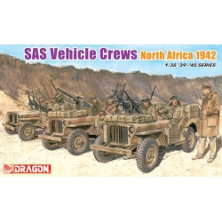 WW2 SAS Vehicle Crews North Africa 1942 (D6682)