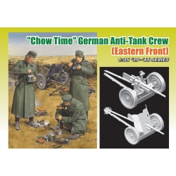 "WW2 ""Chow Time"" German Anti-Tank Gun Crew (Eastern Front) D6697"