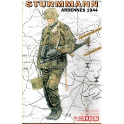 WW2 Sturmmann Ardennes 1944