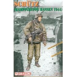 WW2 Schutz Kampfgruppe Hansen 1944