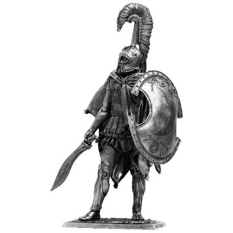 Феспийский гоплит, 5 век до н.э.