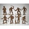 Карибские пираты, набор из 8-ми фигур (65 мм)