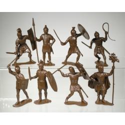Римские легионеры, набор из 8-ми фигур (65 мм)