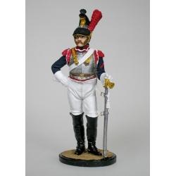 Кирасир 3-го кирасирского полка. Франция, 1812. В росписи (NAP-27)