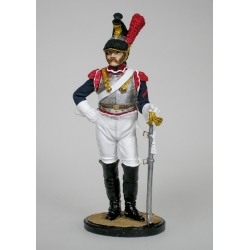 Cuirassiers third cuirassier regiment. France, 1812. Painted (NAP-27)