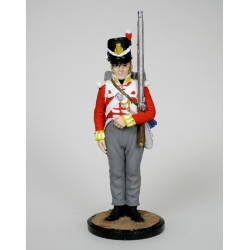 Private companies of the battalion of the 44th East Essex Regiment. United Kingdom. 1812-15