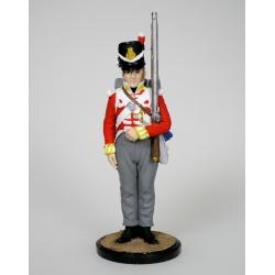 Рядовой батальонной роты 44-го Восточно-Эссекского полка. Великобритания. 1812-15